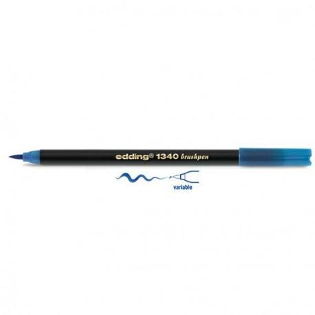 Edding Feutre pinceau Bleu clair