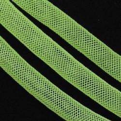 Résille tubulaire fine Verte claire, 4 mm ø - au mètre