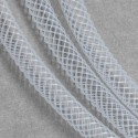 Résille tubulaire Blanc, 6 mm ø - au mètre