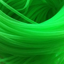 Résille tubulaire  Vert, 6 mm ø - au mètre