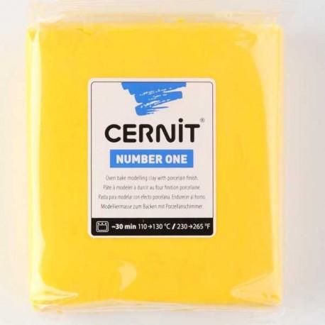 Cernit Number One Jaune 700 - 250 gr