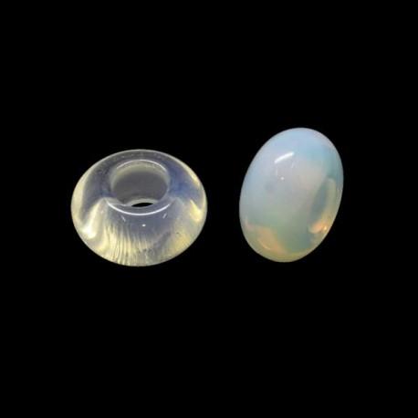Perle Opalite style Pandora - à l'unité