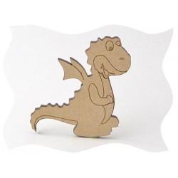 Féerie - Dragonnet Sujet en bois brut