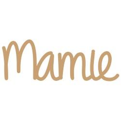 Mot - Mamie Mot en bois brut