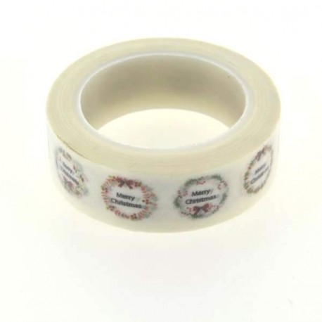 Masking Tape Merry Christmas - 15 mm x 10 m