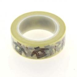 Masking Tape Pulls de Noël - 15 mm x 10 m