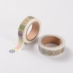Masking Tape Motifs géométriques - 15 mm x 10 m