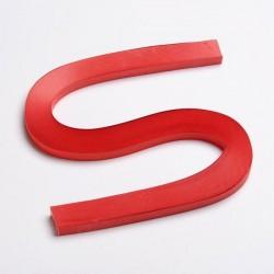 120 Bandes papier pour Quilling - 10 mm - rouge