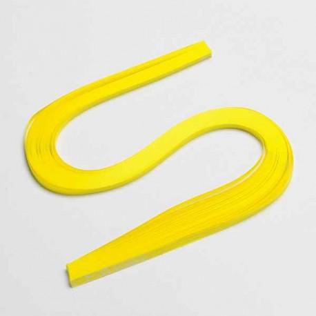 120 Bandes papier pour Quilling - 5 mm - jaune