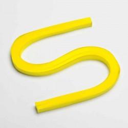 120 Bandes papier pour Quilling - 10 mm - jaune