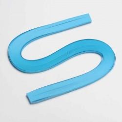 120 Bandes papier pour Quilling - 5 mm - bleu turquoise