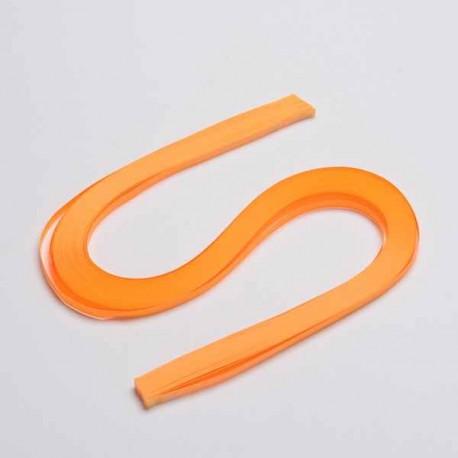 120 Bandes papier pour Quilling - 5 mm - orange