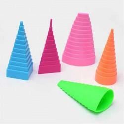 5 Mandrins formes géométriques pour Quilling