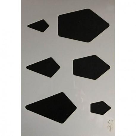 Gabarit de découpe Joyaux 21 x 15 cm