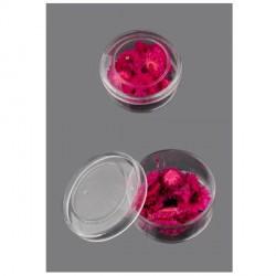 Boite de Fleurs séchées rose foncé 12mm - 20 pièces