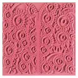 Plaque de texture Mechanics 9 x 9 cm