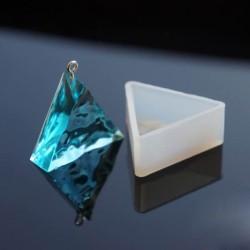 Moule silicone pour résine Triangle