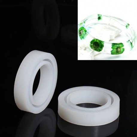 Moule silicone pour résine Bracelet 8,5 cm