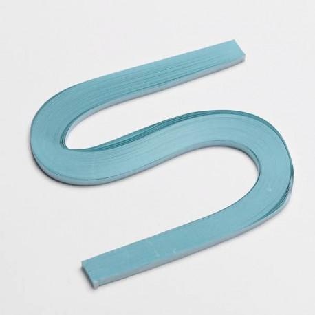 120 Bandes papier pour Quilling - 5 mm - bleu pale