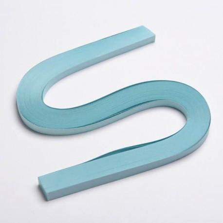 120 Bandes papier pour Quilling - 10 mm - bleu pale