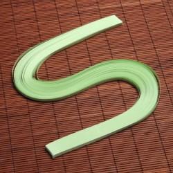 120 Bandes papier pour Quilling - 10 mm - vert pale