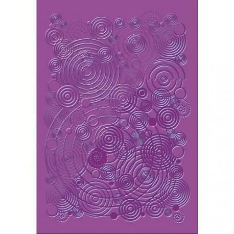 Plaque de texture Spirales 20 x 13 cm