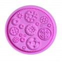 Moule silicone Rouages steampunk