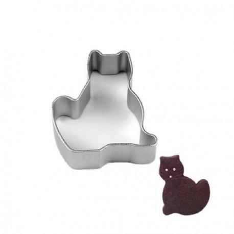 Emporte-pièce métallique Chat assis