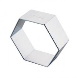 Emporte-pièce métallique Hexagone