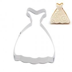 Emporte-pièce métallique Robe de mariée