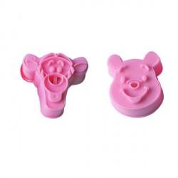 Emporte-pièces et empreintes en plastique Winnie l'Ourson