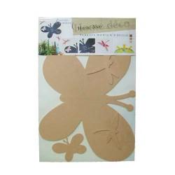 Support Mémo Papillons et Libellules