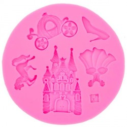 Moule silicone Disney - Princesse