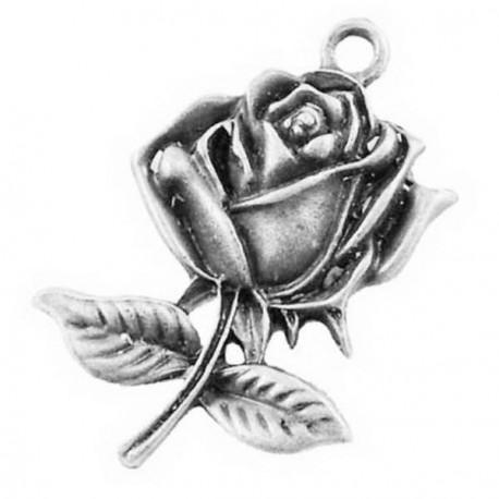 Pendentif breloque en métal Rose