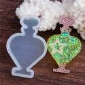 Moule silicone pour résine Parfum ronde