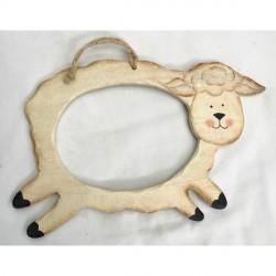 Cadre en bois Mouton
