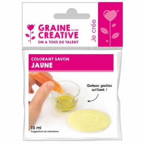 Flacon Colorant pour savon Jaune - 10 ml