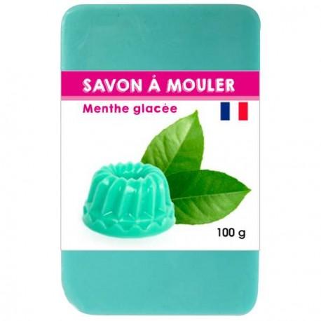 Pain de Savon à mouler Vert Lagon 100 gr