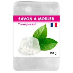 Pain de Savon à mouler Transluscide 100 gr