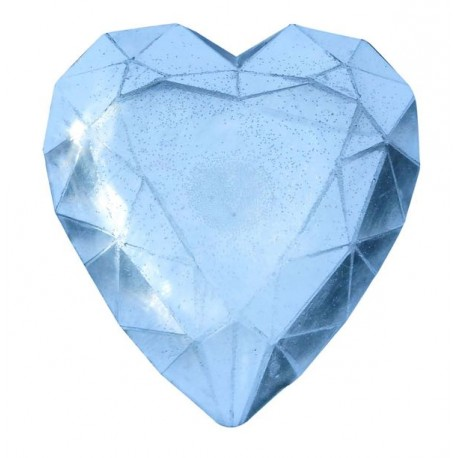 Moule pour Savon Diamant Coeur