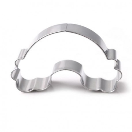 Emporte-pièce métallique Arc en ciel