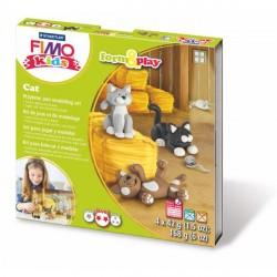 Kit Fimo Kids Les Chats