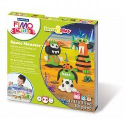 Kit Fimo Kids Les Monstres de l'Espace