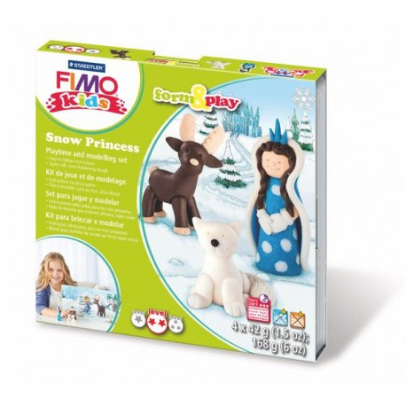 Kit Fimo Kids La Reine des Neiges