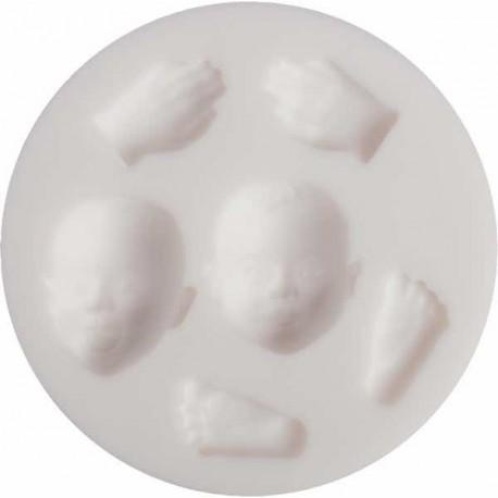 Mini moule silicone Bébé
