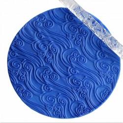 Rouleau de texture Vagues 16 x 1 cm