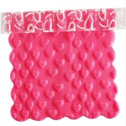 Rouleau de texture petits Coeurs 16 x 1 cm