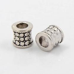 Métal perle 3 petits points style Pandora - à l'unité