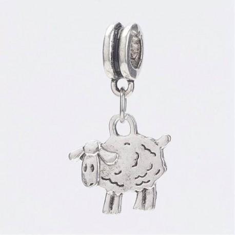 Charm Pendentif Mouton style Pandora - à l'unité