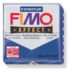 Fimo Effect 302 Bleu Pailleté - 56 gr